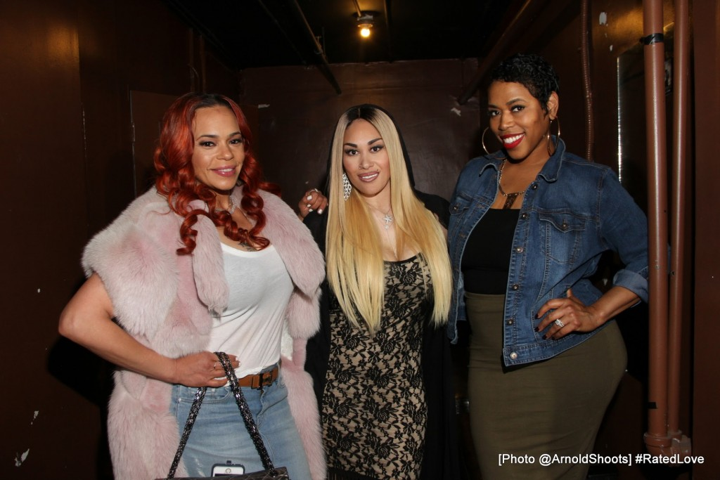 LOS ANGELES, CA - APRIL 22: ____ seen at  Keke Wyatt's 'Rated Love' Album Release Listening Party at 333 Live on Friday. April 22, 2016 in Los Angeles, CA. (Photo by @ArnoldShoots)