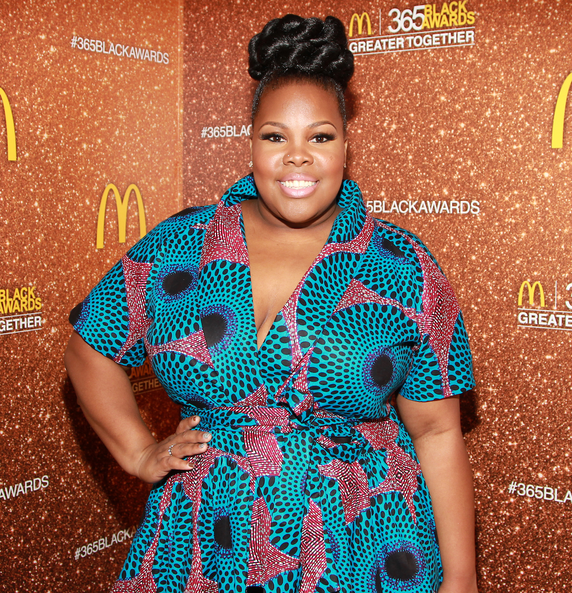 Actress and singer Amber Riley attends the 13th Annual McDonald's 365 Black Awards at the Ernest Moral Convention Center in New Orleans, LA on Friday, July 1, 2016.