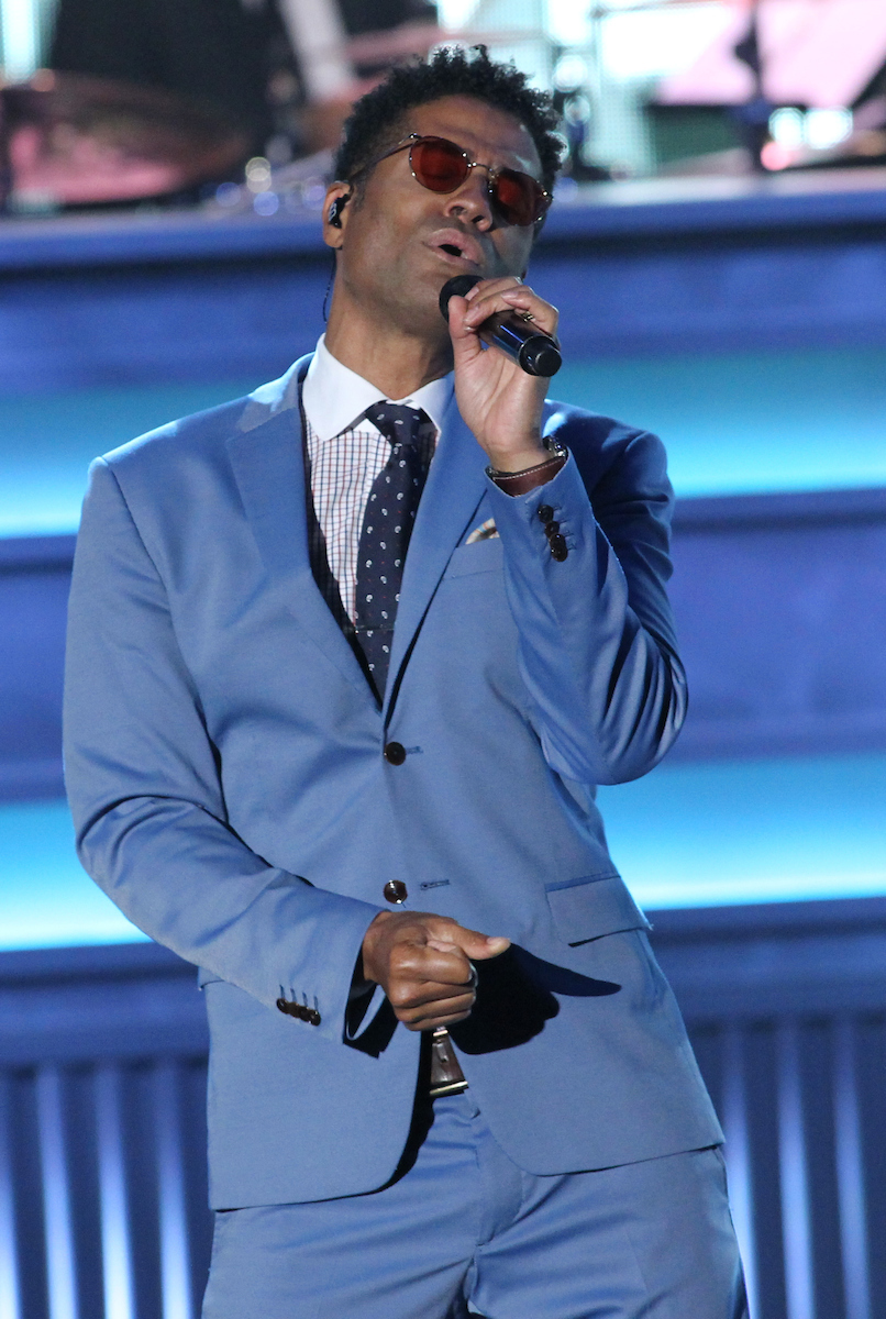 Recording artist Eric Benet performs at the 13th Annual McDonald's 365 Black Awards at the Ernest Moral Convention Center in New Orleans, LA on Friday, July 1, 2016.
