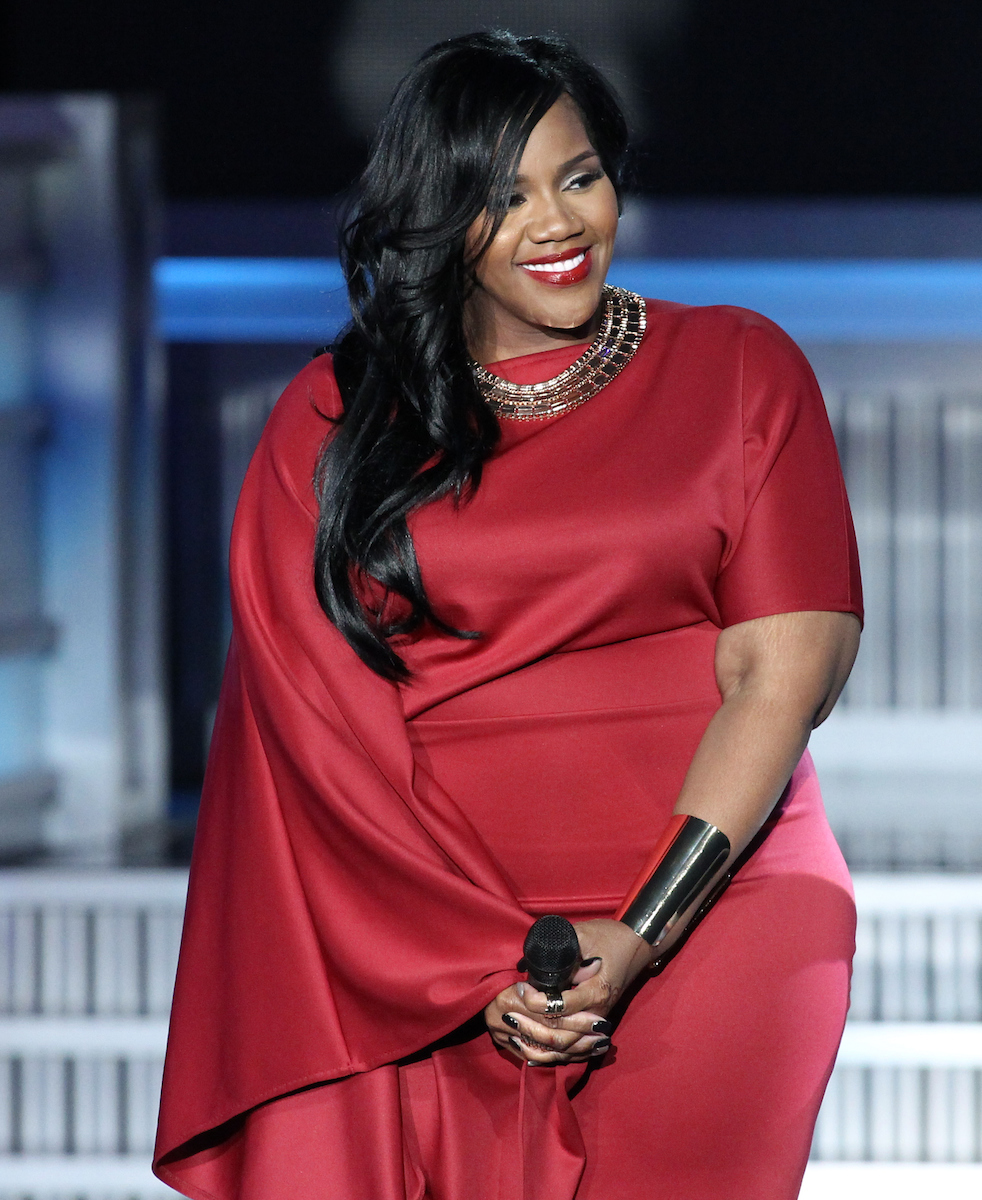 Singer Kelly Price performs at the 13th Annual McDonald's 365 Black Awards at the Ernest Moral Convention Center in New Orleans, LA on Friday, July 1, 2016.