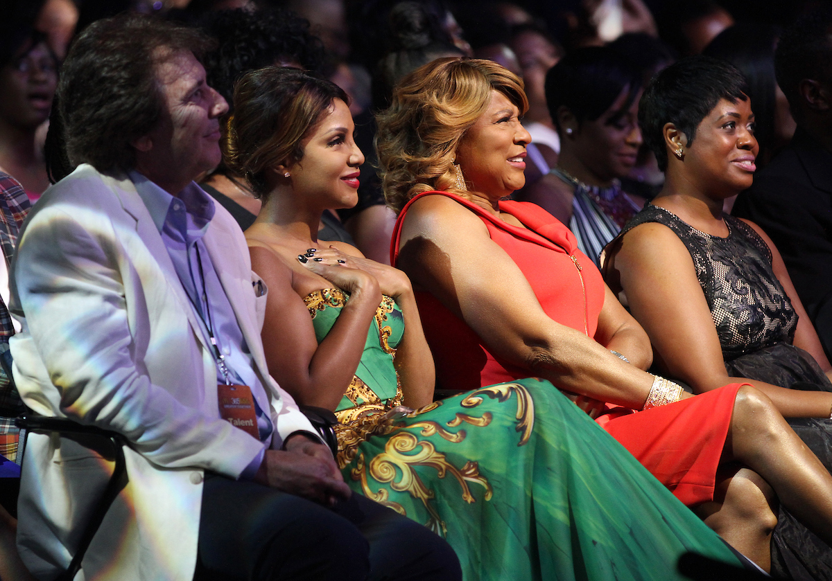Singer and honoree Toni Braxton and mother Evelyn Braxton attend the 13th Annual McDonald's 365 Black Awards at the Ernest Moral Convention Center in New Orleans, LA on Friday, July 1, 2016.