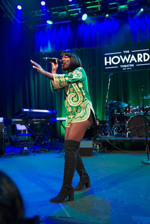EMPIRE's Breakout Star, V.Bozeman, Serenades at The 2016 Raheem Devaughn and Friends Benefit Holiday Concert. Photo Credit: Tony Mobley for The LoveLife Foundation