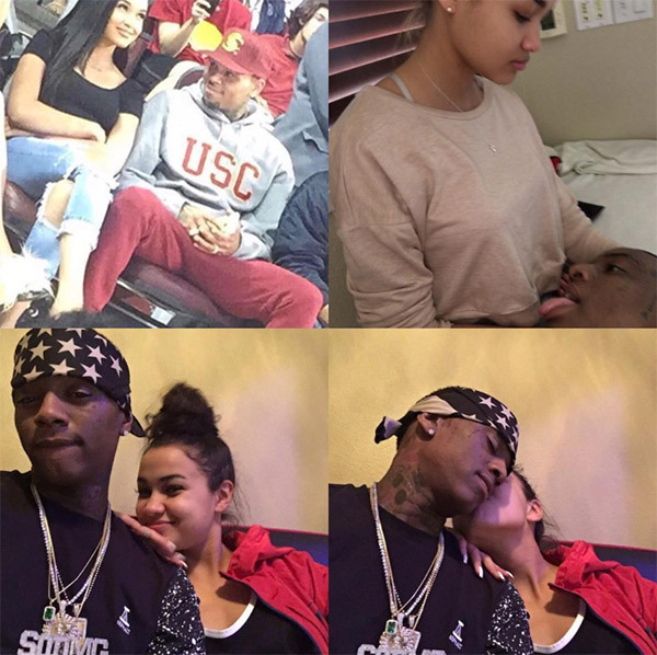 soulja-boy-taunts-chris-brown-by-posing-with-his-exes-1