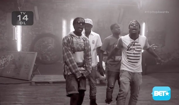 2013 BET Hip Hop Awards Cyphers: A$AP Mob, Slaughterhouse, Lil Kim & Crew, and More