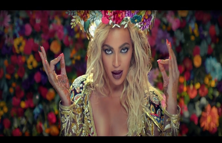Beyonce Stars As Bollywood Goddess in Coldplay's Video, 'Hymn For The Weekend'