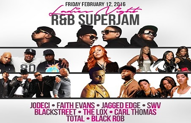 Need Valentine's Day Ideas? Come Out To the 'Ladies Night R&B Super Jam' At The Barclays Center