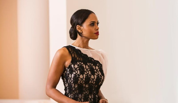 "'Addicted' Actress Sharon Leal Unwraps Music Video For ""Giant"""