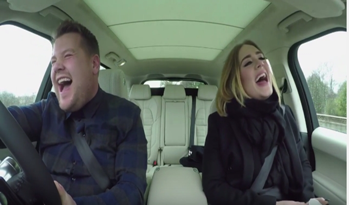 Adele's Up Next For 'Carpool Karaoke' With James Corden (Preview)