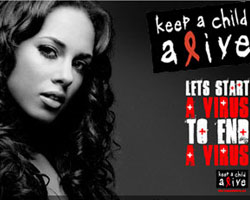 Alicia Keys Uses Text Messaging to Raise Funds From Fans