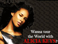 R&B Singer Alicia Keys Launches Talent Search