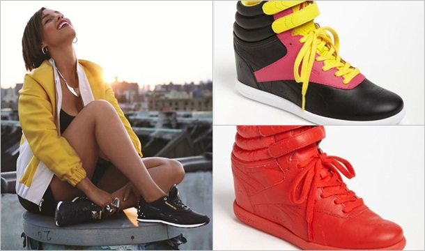 Alicia Keys Launches Second Reebok Sneaker Collection 'Freestyle Hi Wedge'