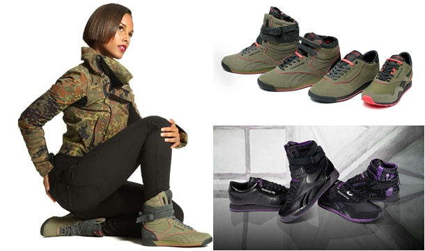 Alicia Keys Launches Second Installment of Reebok Shoe Collection