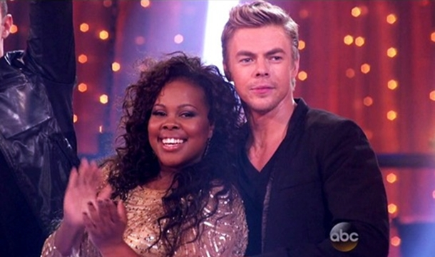 Amber Riley Wins 'Dancing With The Stars' Mirror Ball Trophy