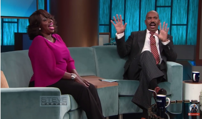 Angie Stone Talks Tooth-Tossing Fight With Daughter On 'Steve Harvey' (Video)