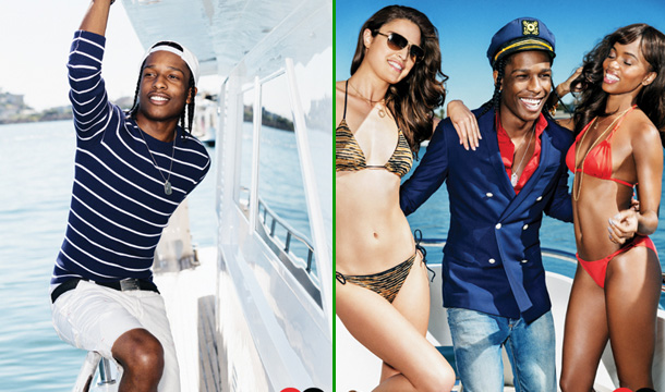 A$AP Rocky Gets Nautical for GQ Photo Shoot