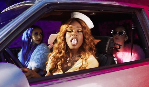 Azealia Banks – ATM Jam Ft. Pharrell