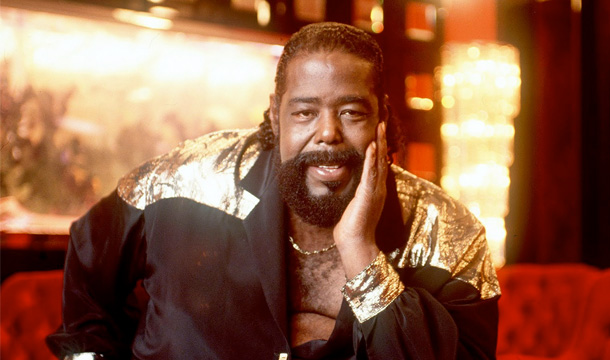 Barry White Receives Star on Hollywood Walk of Fame