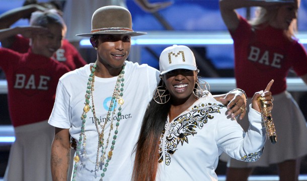 BET Awards 2014: Missy Elliot Makes Surprise Appearance with Pharrell