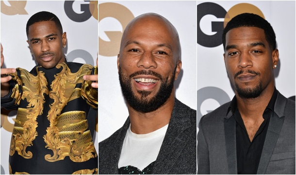 Kid CUDi, Common and Big Sean Attend GQ Men of the Year Party