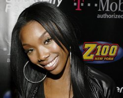 Brandy 'Goes Human' On Shade 45, Sets Prying Questioners Straight (Video)
