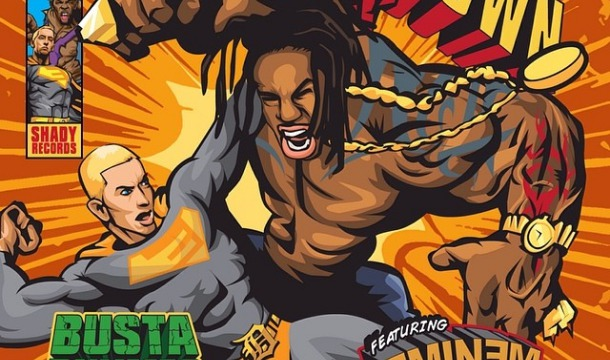 "The Cover: Busta Rhymes and Eminem's New Single ""Calm Down"", Plus Pre-order"