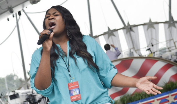 Candice Glover Confirms Album Delay, Tapped For MLB All Star Game