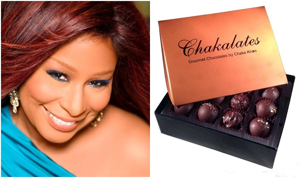 Chaka Khan to Debut Chocolate and Candle Line During Grammy Weekend