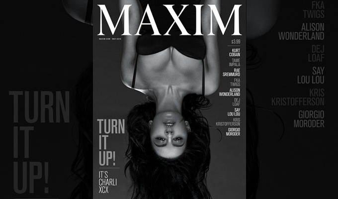 Charli XCX Covers Maxim's May 2015 Issue