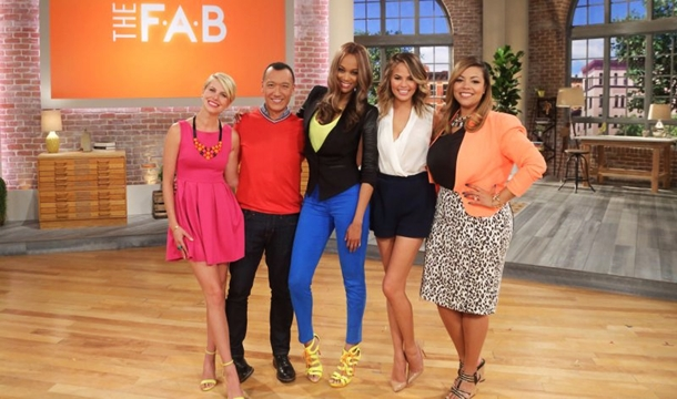 Chrissy Teigen Joins Tyra Banks For Daytime's 'The FAB'