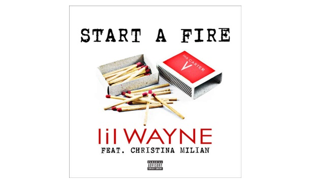 "Christina Millian and Lil Wayne ""Start A Fire"""