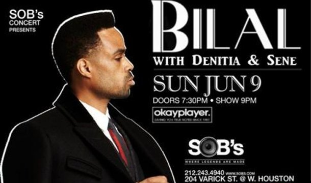 CONTEST: Win Tickets to See Bilal in New York City