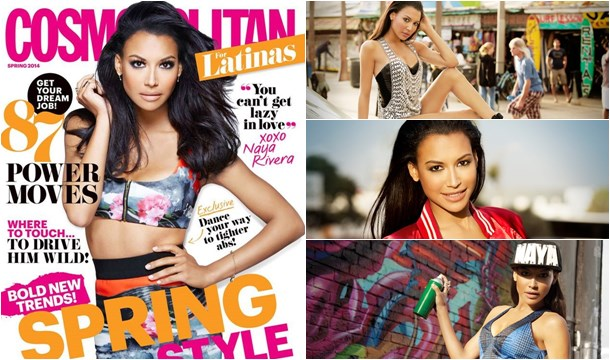 The Cover! Naya Rivera Sets Cosmo For Latinas on Fire!