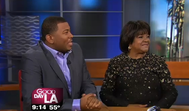 Shirley Caesar Talks Anointing,  New Album and Meets American Idol's Curtis Finch Jr.