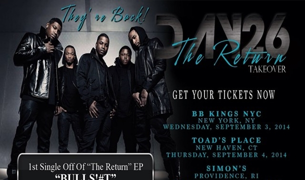 City Near You! Day 26 To Kick Off 'The Return' Tour, Dates Revealed
