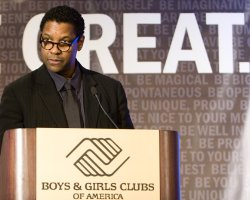 "Hollywood: Denzel Unveils ""Be Great"" Initiative, Washington, Shaq New Faces of Boys & Girls Club"