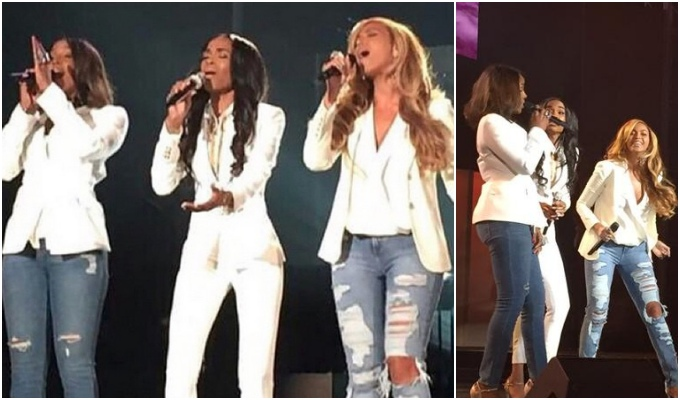 Destiny's Child Reunion: Beyonce and Kelly Rowland Join Michelle Williams at Stellar Awards