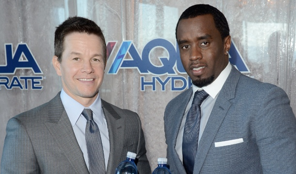 Diddy Partners with Mark Wahlberg For Performance Water Venture