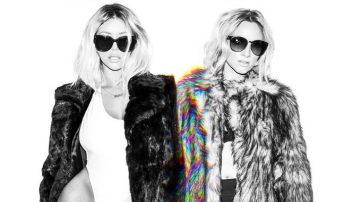 FIRST LOOK: Former Danity Kane Members Aubrey O'Day and Shannon Bex as 'dumblonde'