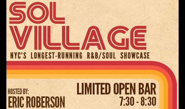 Sol Village: Chris Turner, Bradd Marquis, TSoul, and More (August 21, NYC)