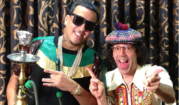 French Montana Chop It Up With Nardwuar
