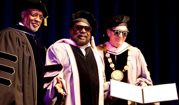 George Clinton Honored with Doctorate Degree from Berklee College of Music