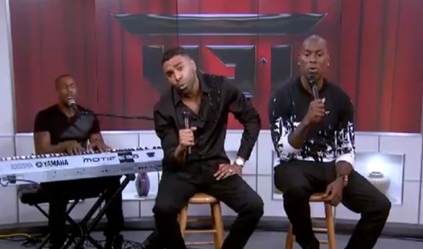 Ginuwine Blames Energy Drink For 'High' Performance, Plus Tyrese and Tank Weigh In