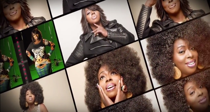 Go Behind The Scenes of Angie Stone's '2 Bad Habits' Video