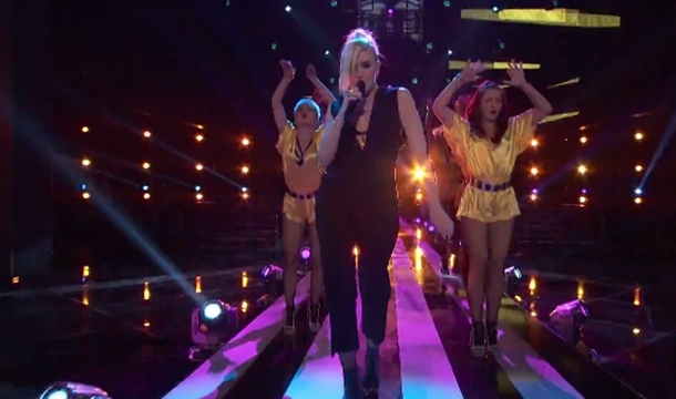 Gwen Stefani Rocks 'The Voice' With Holla Back Girl