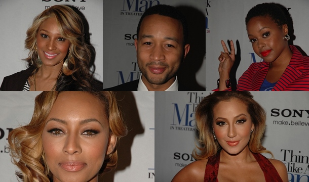 R&B Takes Over 'The Think Like a Man' Premiere