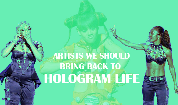 10 Artists We Should Bring Back To Life (Biopics and Holograms)