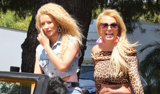 Iggy Azalea Slams Media For Trying to Create Beef With Her and Britney Spears