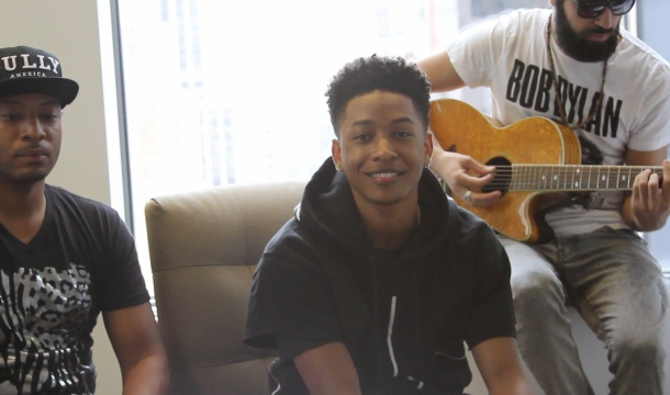 [EXCLUSIVE] MUST WATCH: Jacob Latimore – Heartbreak Heard Around The World (Voice & Acoustics)