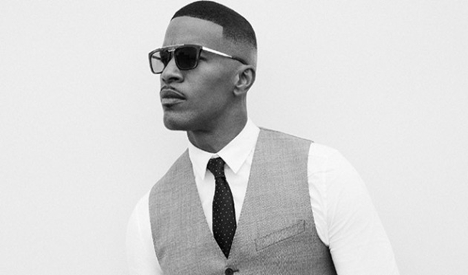 Jamie Foxx Involved In Rescue Efforts To Pull Man From Burning Car
