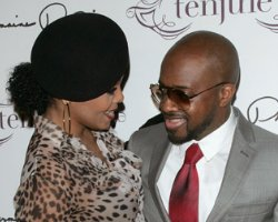"Janet Still 'Rockin"" With Jermaine Dupri"